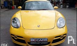 *** Porsche cayman s *** - 2009 model - local PGA -