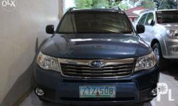 2009 Subaru Forester AT Price: Php 580,888 For Bank