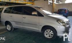2009 Toyota Innova G Diesel Automatic 1st Owned Very
