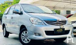 2009 Toyota Innova V P518,000 only! Sample Computation
