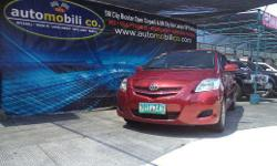 Vehicle Options 2009 Toyota Vios E Year: 2009 Mileage: