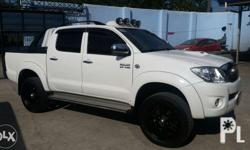 2005 Model Toyota Hilux G 4x4 Automatic. White Pearl