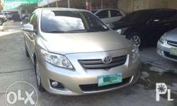 2010 Toyota corolla Altis 1.6G manual engine allpower