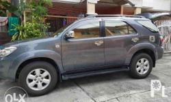 2010 toyota fortuner 1st owned Very fresh in & out