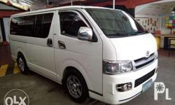 For Sale 2010 Toyota Hiace Commuter Pormado No issue