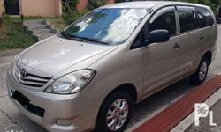 FOR SALE 2010 Toyota Innova E 2.0 Gas M/T 1st Owned