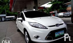 2011 Ford Fiesta Hatchback Top of the line 358t Nego