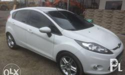 2011 Ford Fiesta Hatchback Sports Edition Top of the