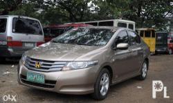 2011 Honda City, Gold color, First owner, leather seat
