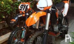 Race ready 2011 KTM 250 sxf and 2007 KTM 105xs. Well