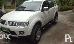 Very nice 2WD/auto Montero with 23,000km. Big wheels