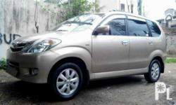 2011 TOYOTA AVANZA G Top of the line First Owner Cebu