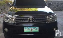 2011 Toyota Fortuner 4x2 newly registered 2016 diesel