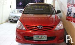 2011 Toyota Innova E Diesel MT Price: Php 650,888 For