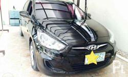 2012 Hyundai Accent 1.4 Gas Black 43k mileage Fresh In