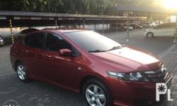 2012 Honda City 1.3L S A/T Habanero Red Mileage :