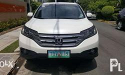 Honda CRV 4x4 Orchid Pearl White Automatic