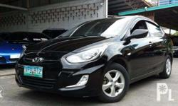 2012 Hyundai Accent GLS CVT 1.4L Automatic with