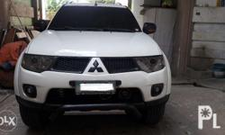 2012 mitsubishi montero glx-v limited manual