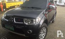 2012 montero sport gls v a/t very fresh 20t kms only