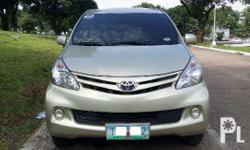 For sale 2012 Toyota Avanza E Complete Papers 1.3