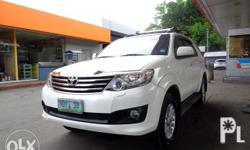 2012 Toyota Fortuner G AT 918t Nego Batangas Area 1st