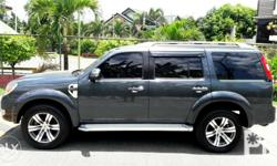 2013s FORD EVEREST 4X2 manual trany all power top of d