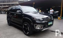 13 FORTUNER V 4X4 A/T (1.050M) 1st own All orig 45km