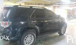 2013 TOYOTA FORTUNER 4X2G AT Color Dark Steel Mica No