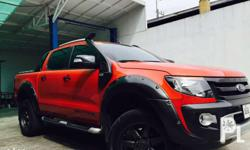 For sale Ford ranger wildtrak 2014 automatic 3.2l 4x4
