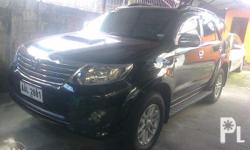 For sale toyota fortuner g automatic transmission