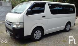 2014 hiace commuter 15 seater personal use only lst own