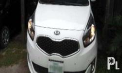 Brand: Kia Model: Carens EX AT DSL Color: Clear White