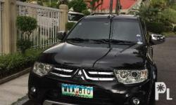 2014 Mitsubishi Montero Sport GlsV automatic 1st owned
