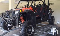 2014 Polaris RZR 900 XP 4 seater Comes with 1 set of