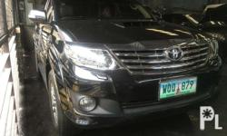2014 Toyota Fortuner V 4x4 3.0 diesel Top of the line