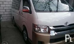 2014 toyota hi ace GL Grandia 2.5 Automatic Fresh in