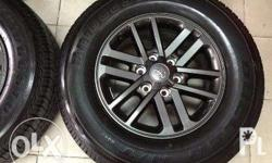 For Sale Toyota Fortuner 2015 spare tire Never used