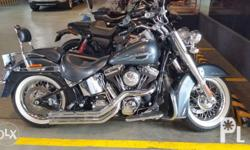 2015 HD Softail Deluxe purchased at Harley dealer