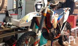 �NO REGISTRATION PAPERS� 2015 KTM EXC 500 SIXDAYS