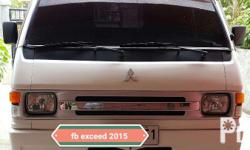 For Sale : 2015 Mitsubishi L300 FB Exceed Price : Php