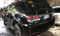 2015 Fortuner 2.5 V 4x4 Diesel Automatic Black Ist