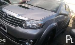 2015 toyota fortuner 2.5 V Automatic transmission Color