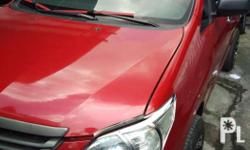 2015 Toyota innova 2.5J manual diesel RED GOOD