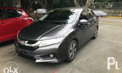 2016 Hinda city VX automatic transmission Color gray