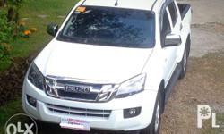2016 Isuzu Dmax LS Manual Transmission 4x2 3.0 Turbo