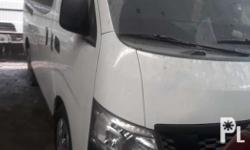 AVAILABLE AS LONG AS POSTED 16' nissan urvan nv350 OV