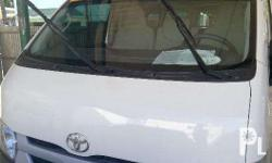 2016 Toyota Hi-Ace MT Diesel Good condition and