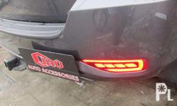 Fortuner 2016 Led Rear Bumper Light with install We