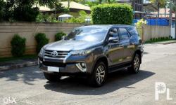 2016 Toyota Fortuner V 4x2 Automatic 13t Kms mileage